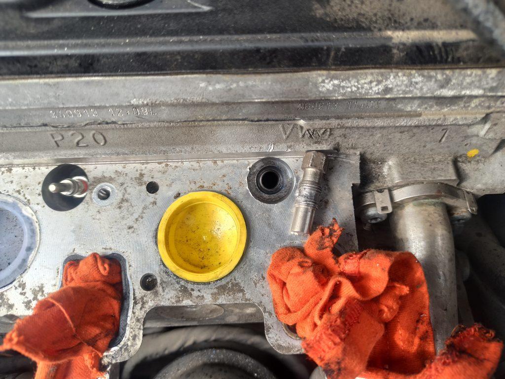 Audi Seat Skoda VW törött izzítógyertya kiszedés